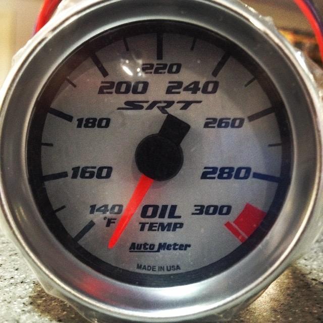 Dodge Ram Srt 10 >> 2004-2006 Dodge Ram SRT-10 OEM Oil Temperature Gauge, #5029717AA – Parts Online Network